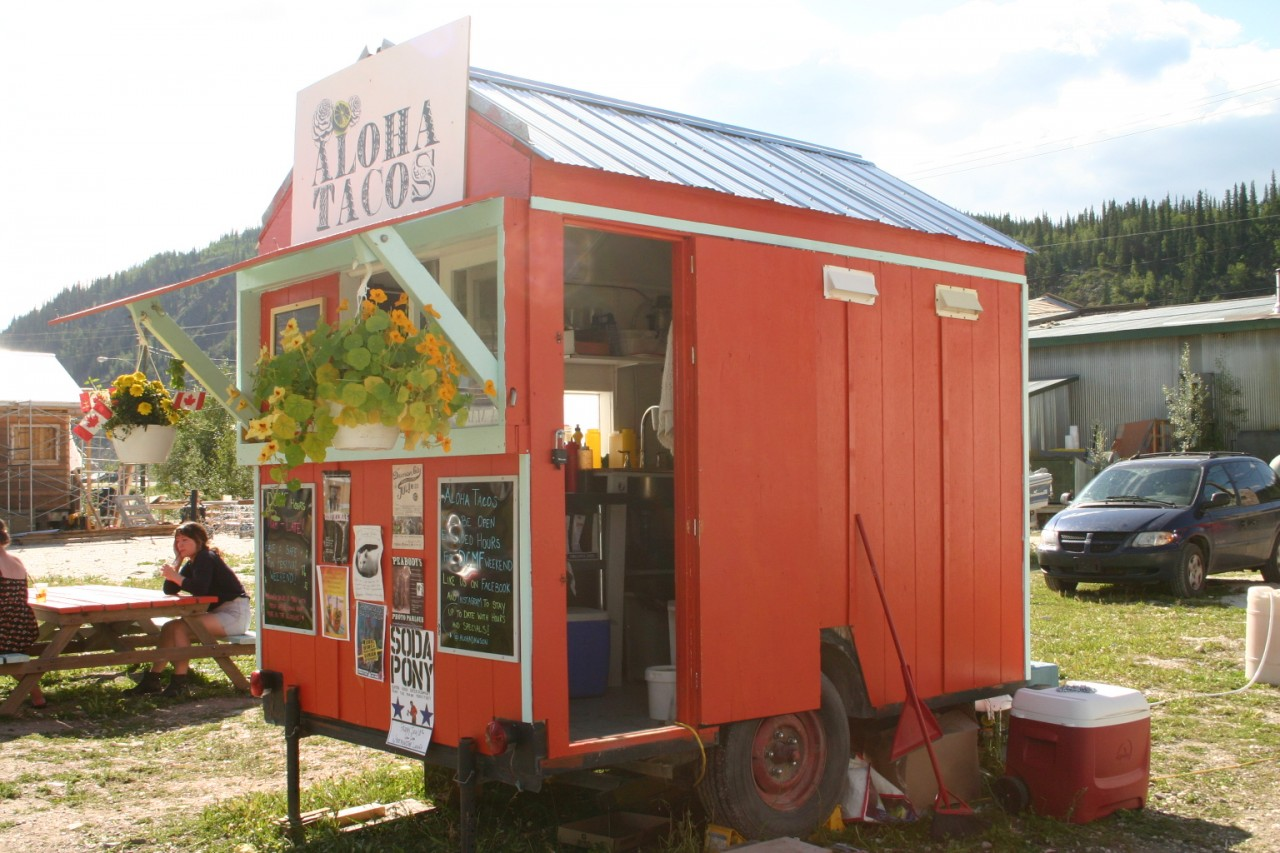 Aloha Taco Trailer, Dawson City