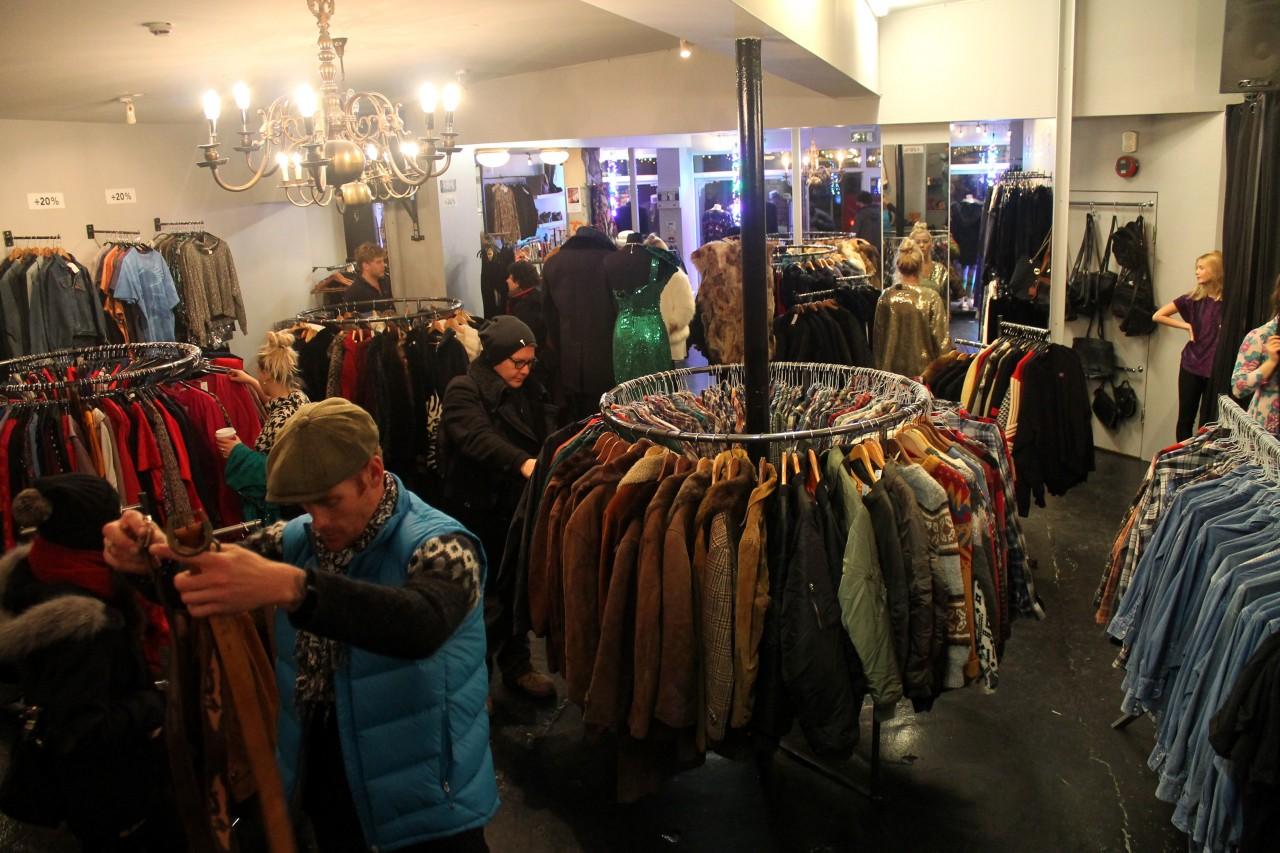 Reykjavik shopping