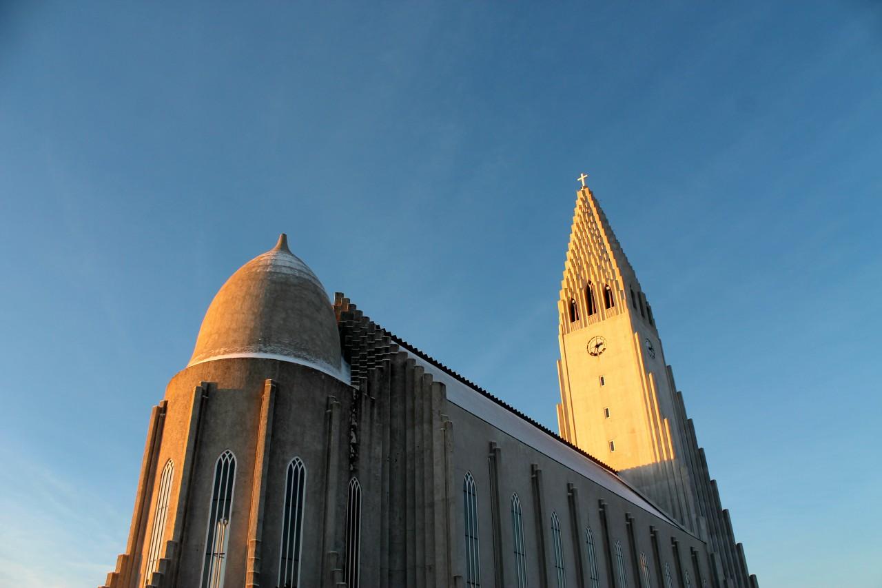 Reykjavik church, Iceland