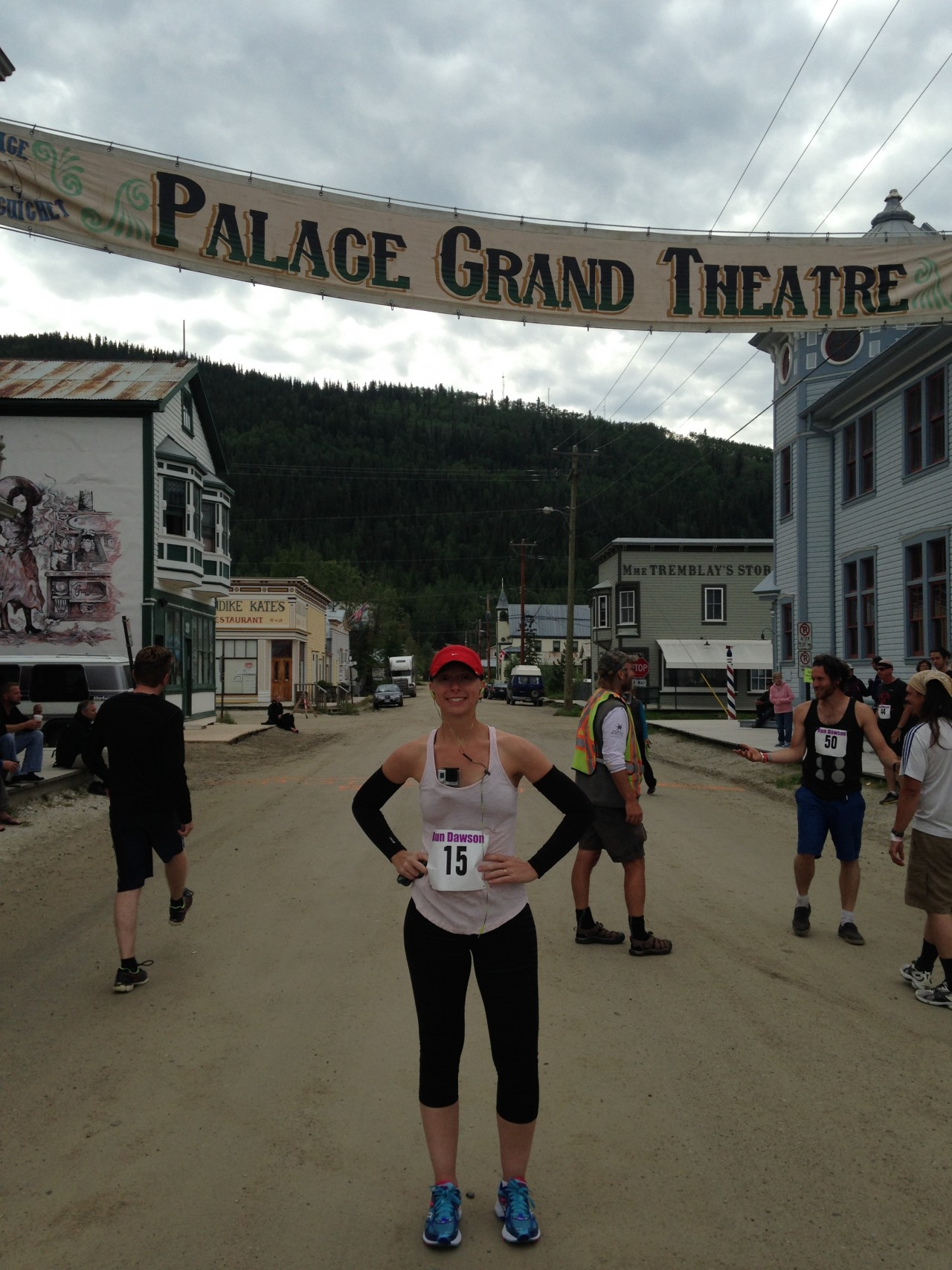 Start Line: The Palace Grand Theatre, Dawson City