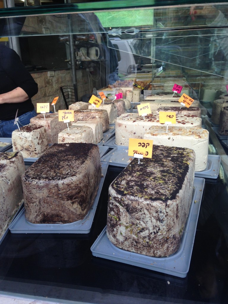 Halva by the pound, Lavinsky Market, Tel Aviv