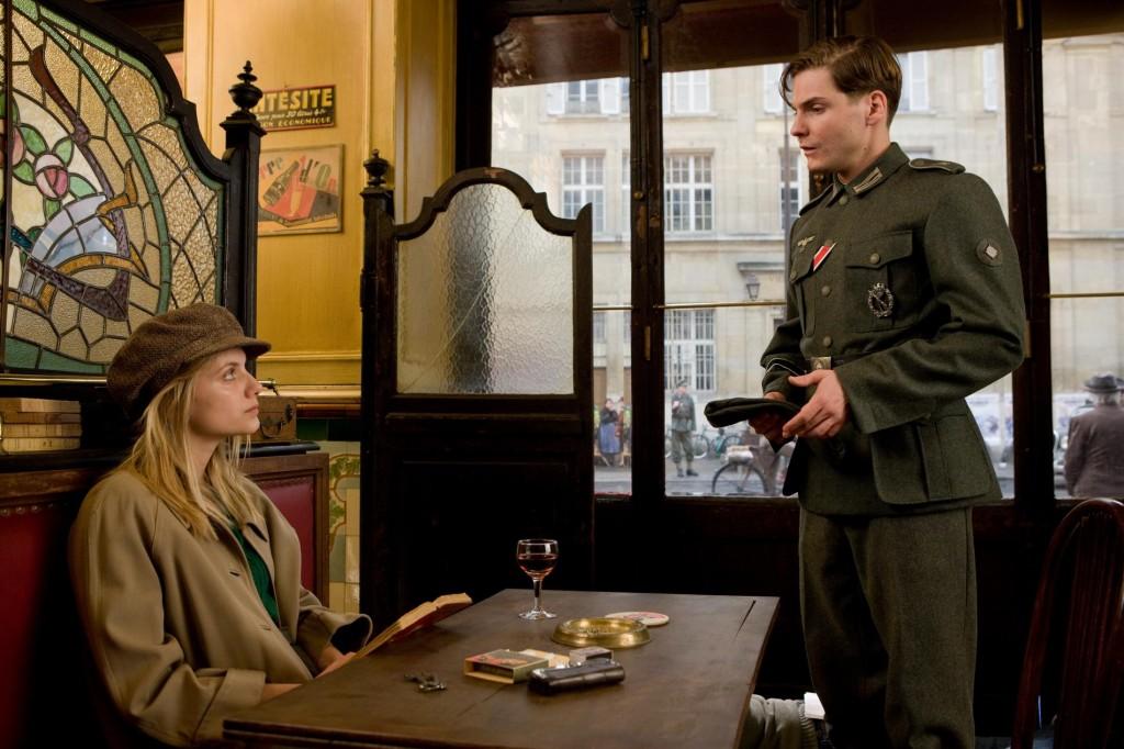 Inglourious Basterds filming Paris