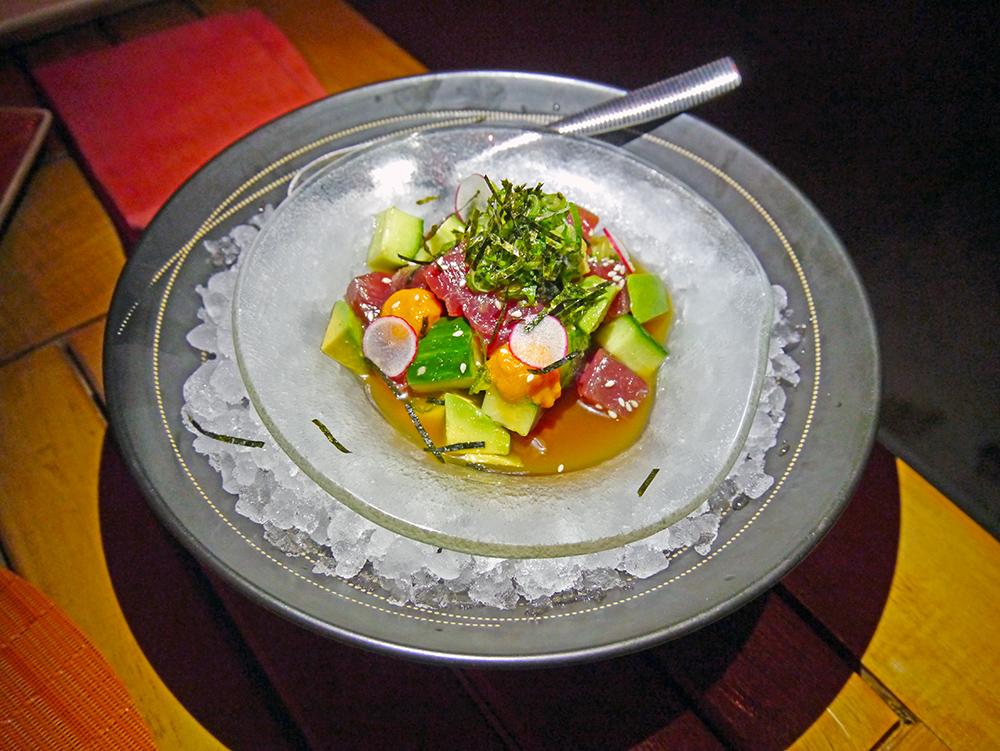 Tuna ceviche at Toro Latin Restaurant & Rum Bar at the Fairmont Scottsdale Princess. Photo Credit: Richard Abrich