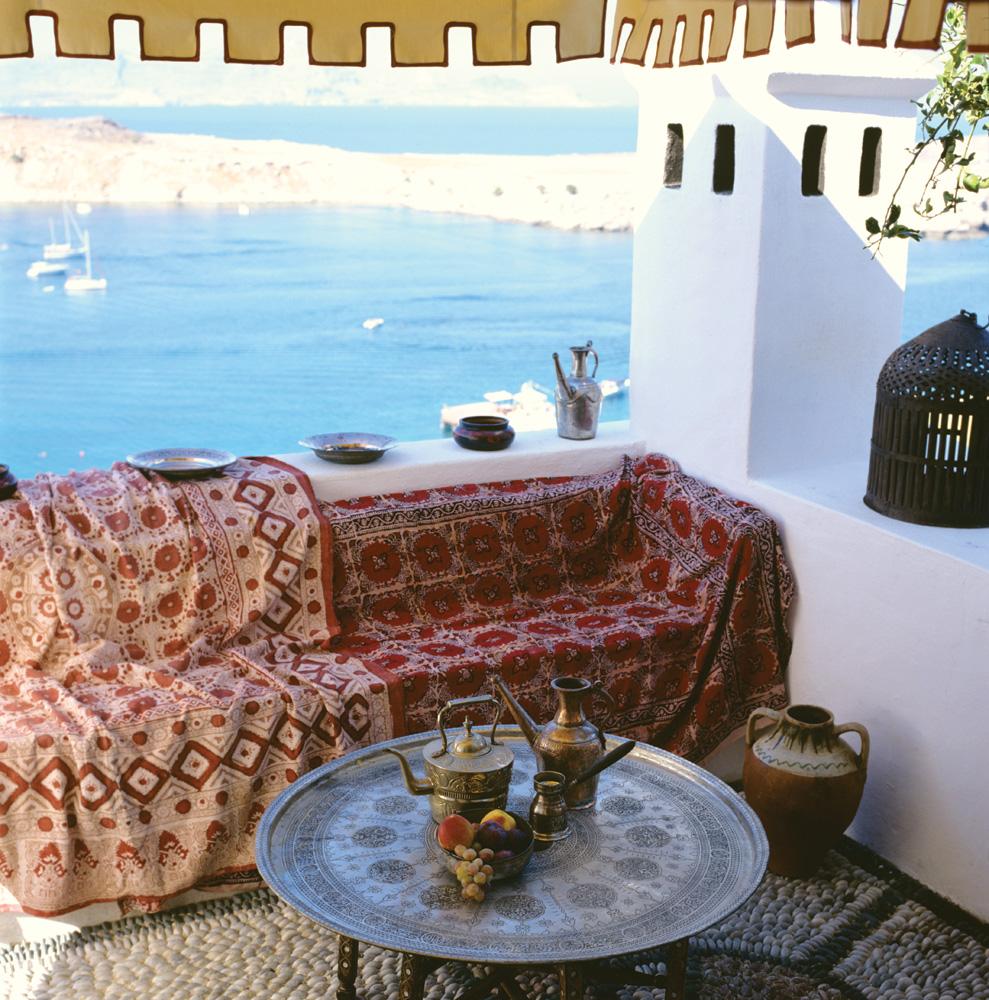 Morning Views at Melenos, Lindos on Rhodes Island, Greece