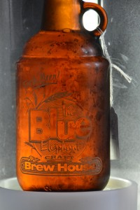 A howler of the Blue Elephant's strawberry lager