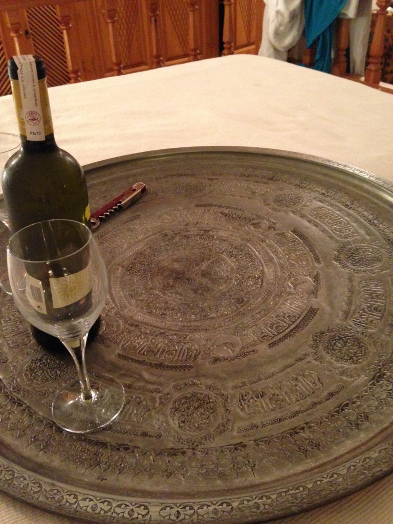 Hand Etched Platters from Syria