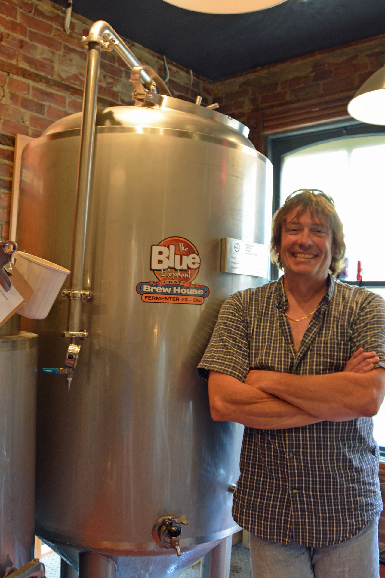 Blue Elephant's Brewmaster, James Grant