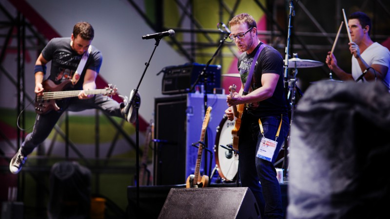 Above: Speed Control rocks out at PANAMANIA (Photo: Ryan Edwardson Photography)