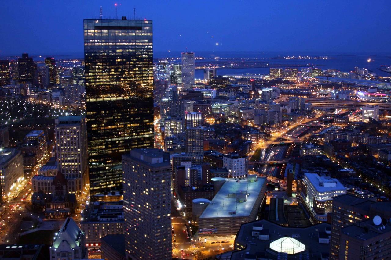 BostonTwilightfromTop&Skywalk