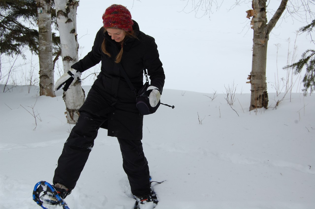 13. Ontario highlands snowshoeing