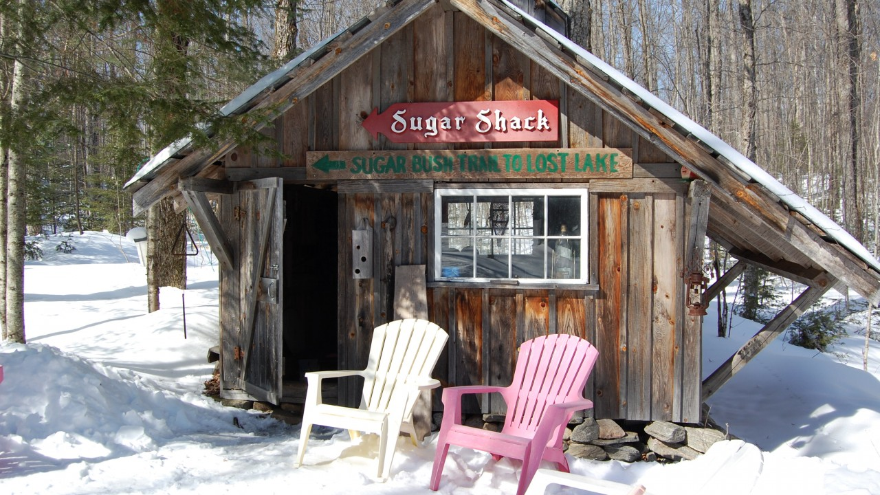 6. Ontario maple sugar shacks