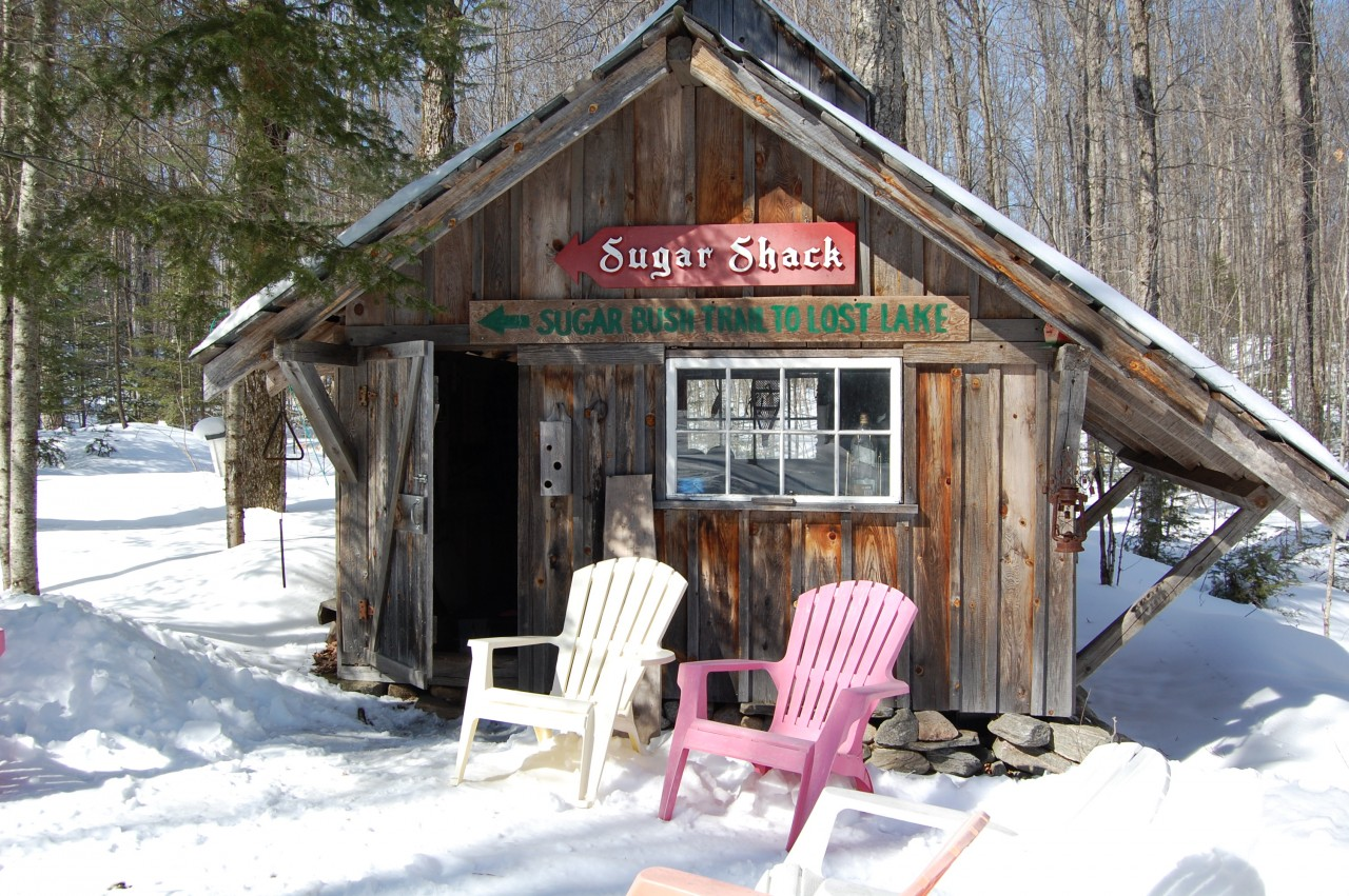 6. Ontario maple sugar shacks