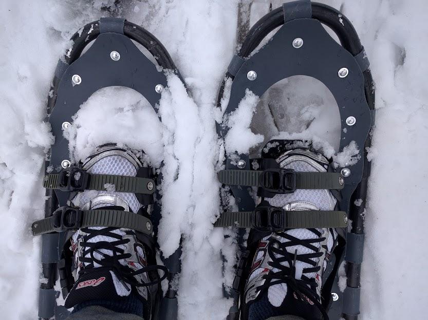 Viamede snow shoeing