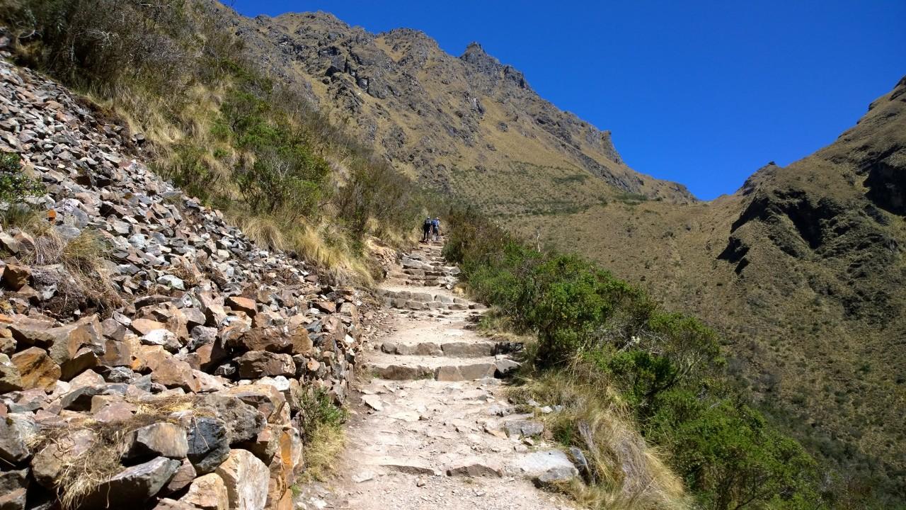 Dead Woman's pass ascent