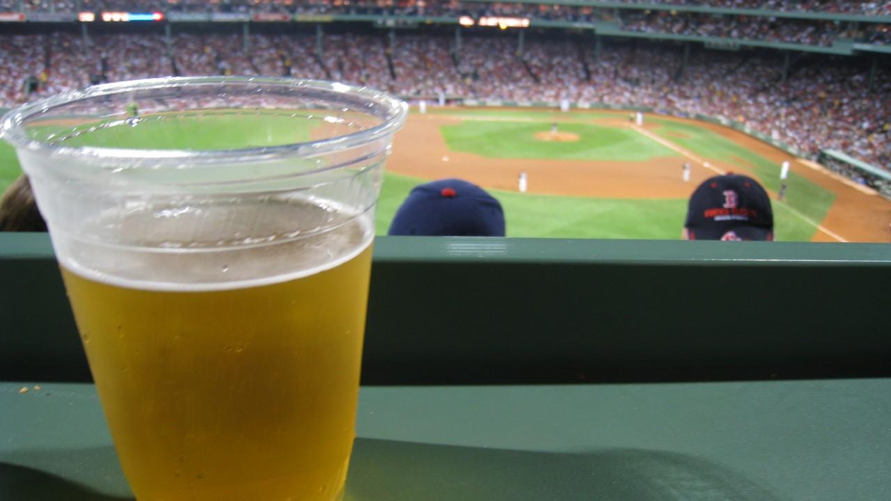 Beer and Baseball Katherine