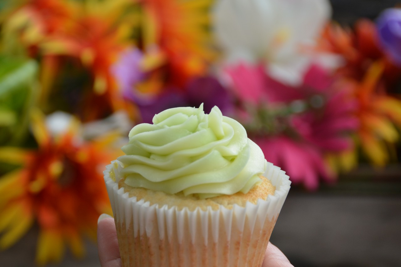 Sweet Savannah's Key Lime Cupcake