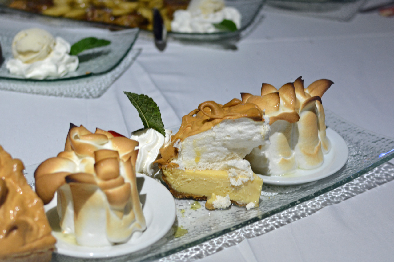 Marker 88 Baked Alaska Key Lime Pie