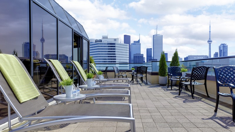 Rooftop Terrace. Photo by Chelsea Hotel