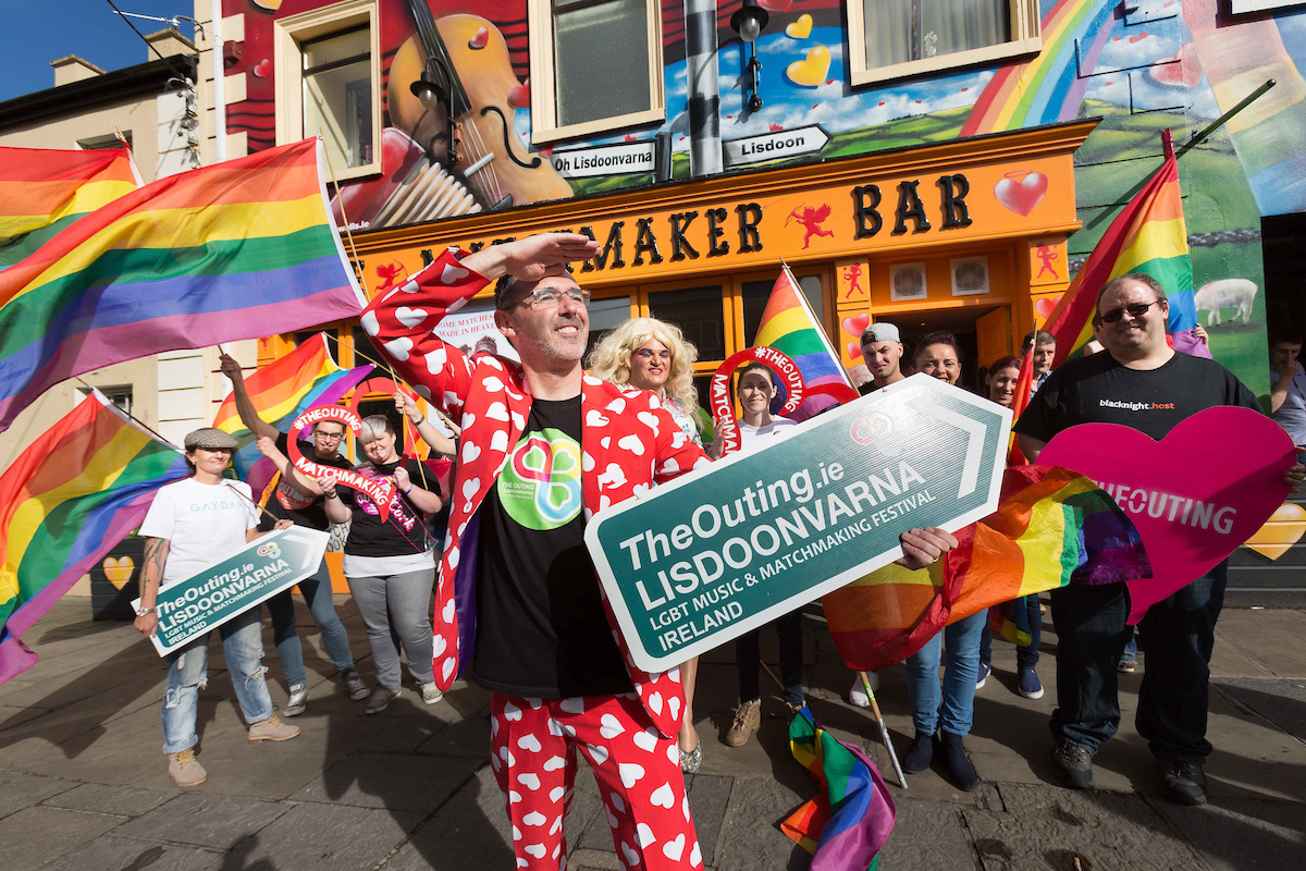 Photo credit: Eamon Ward & The Outing LGBT Music & Matchmaking Lisdoonvarna Ireland
