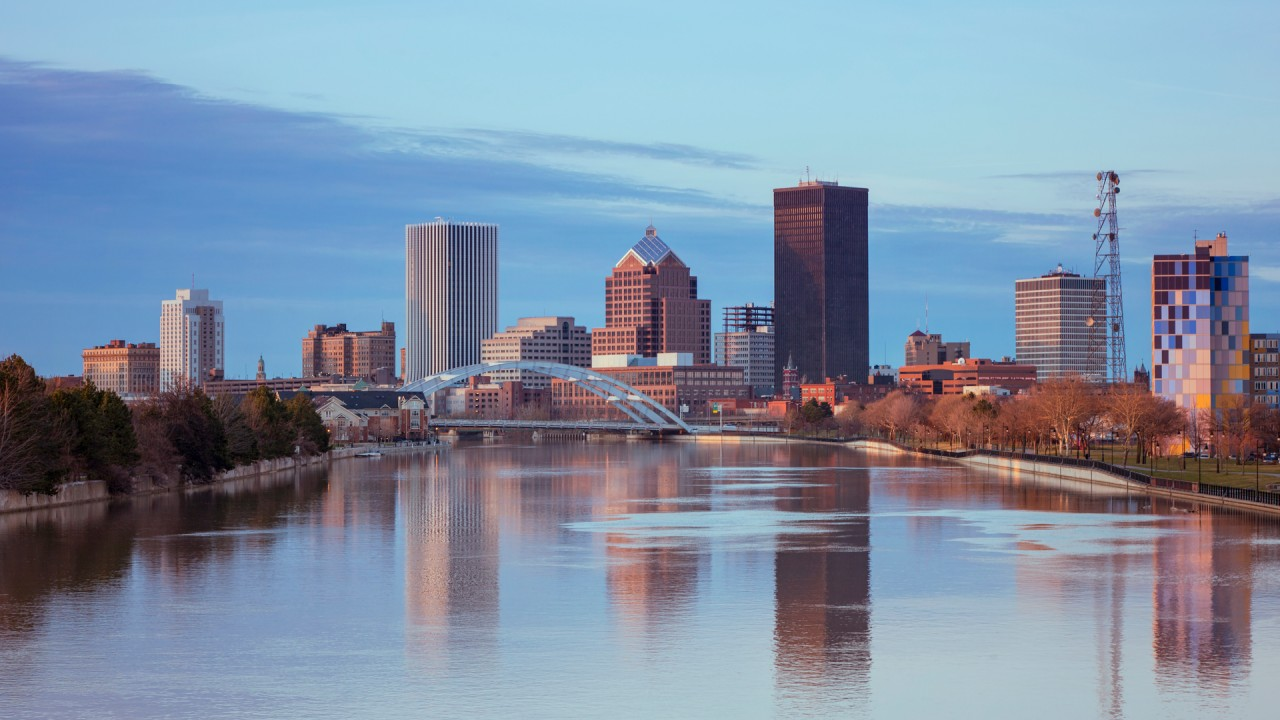 Skyline of Rochester