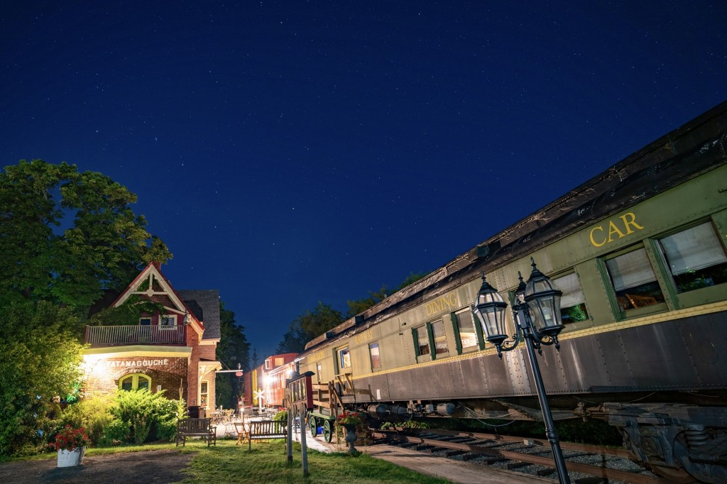 Tatamagouche train station inn