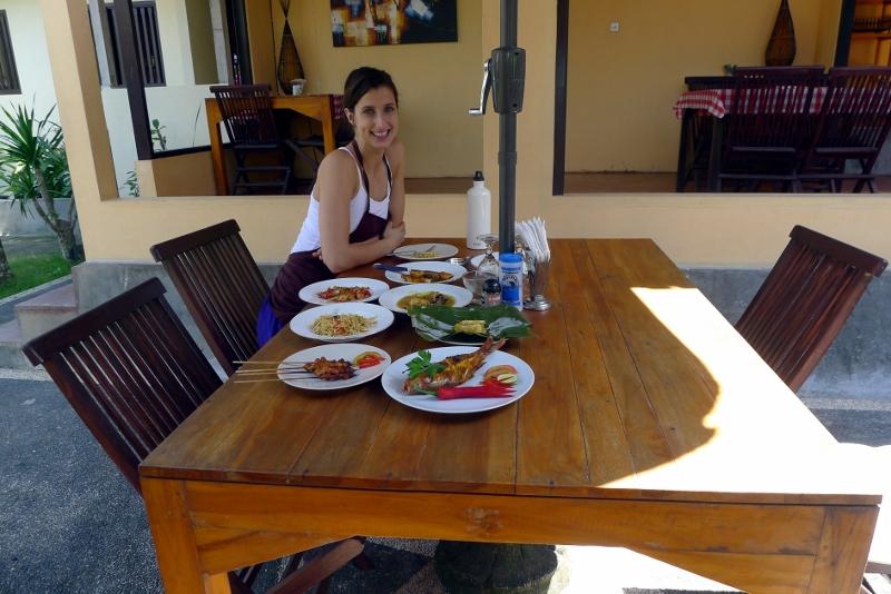 Bali cooking school