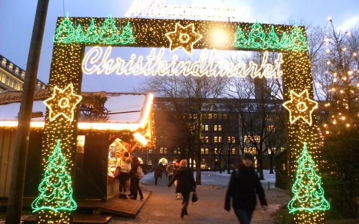 Christkindlmark Christmas Market Germany Munich