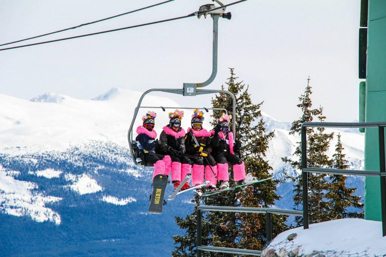 Jasper Pride Ski lift