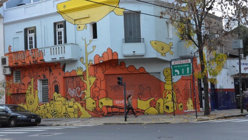 Graffiti art Buenos Aires