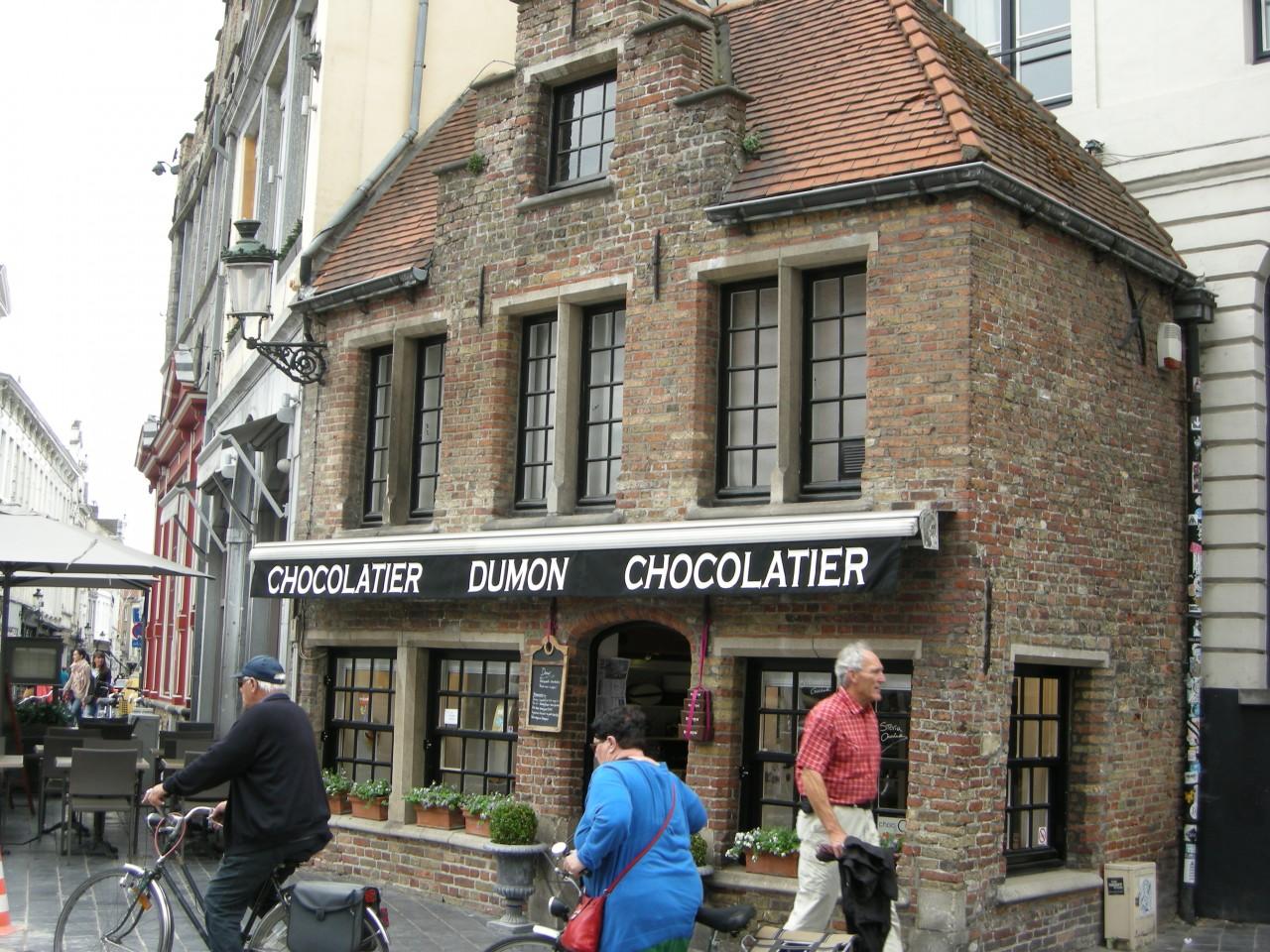 Bruges Chocolate Shop Belgium