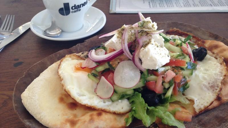Breakfast at Cassis, Jaffa (Tel Aviv)