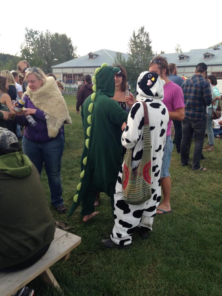 Local Team Spirit at the Dawson City Music Fest