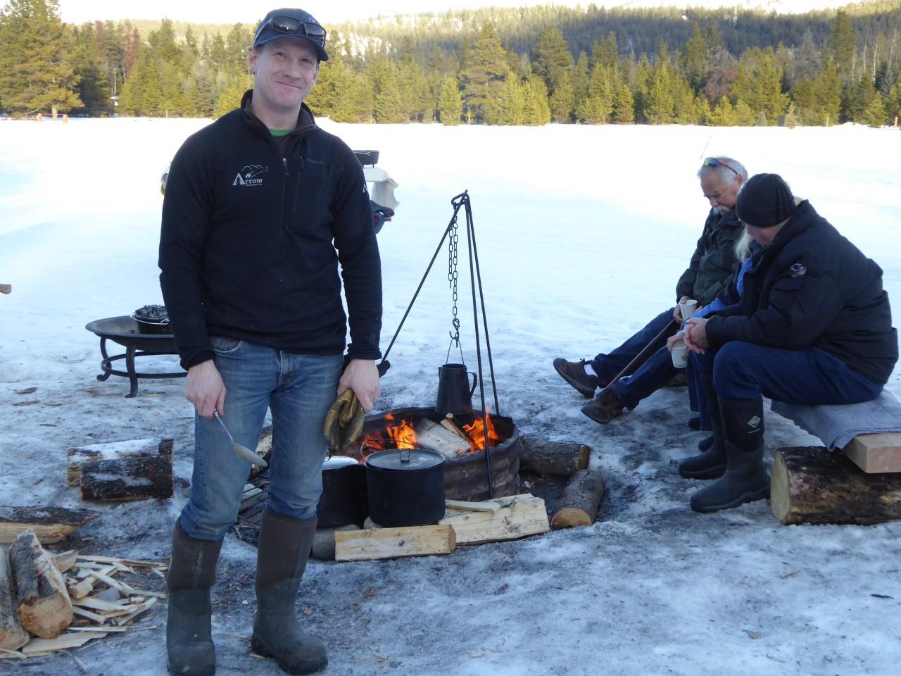 Jasper campfire cooking