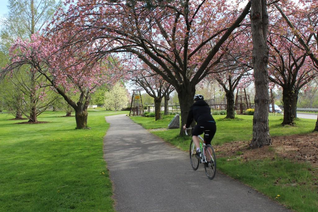 Cycling the Niagara Parkway, Niagara Parks