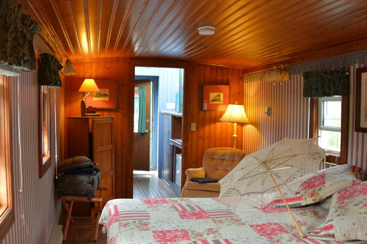 Inside the Tatamagouche Train Inn