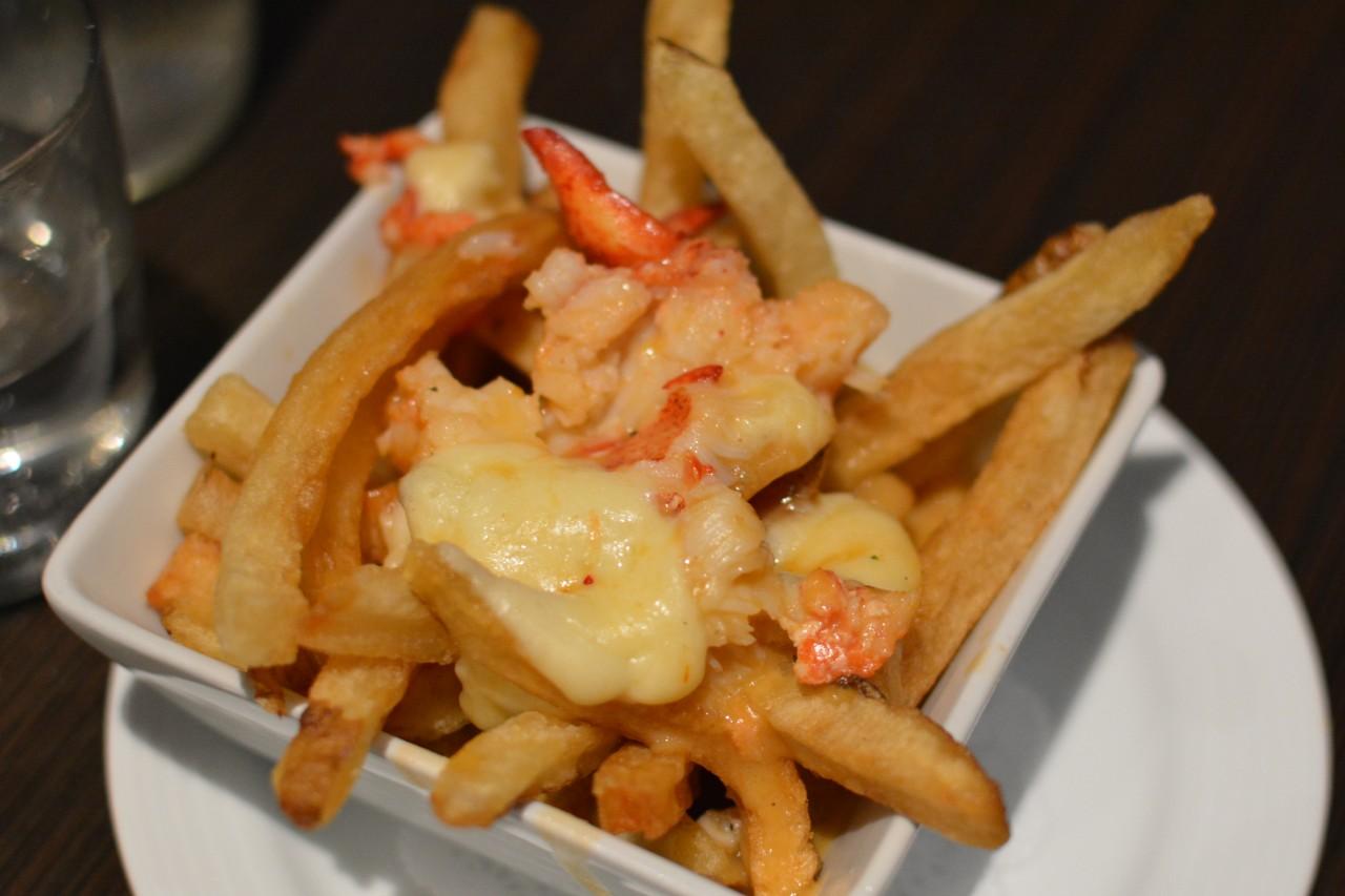 Lobster poutine Nova Scotia