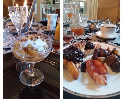 Hughson Hall breakfast