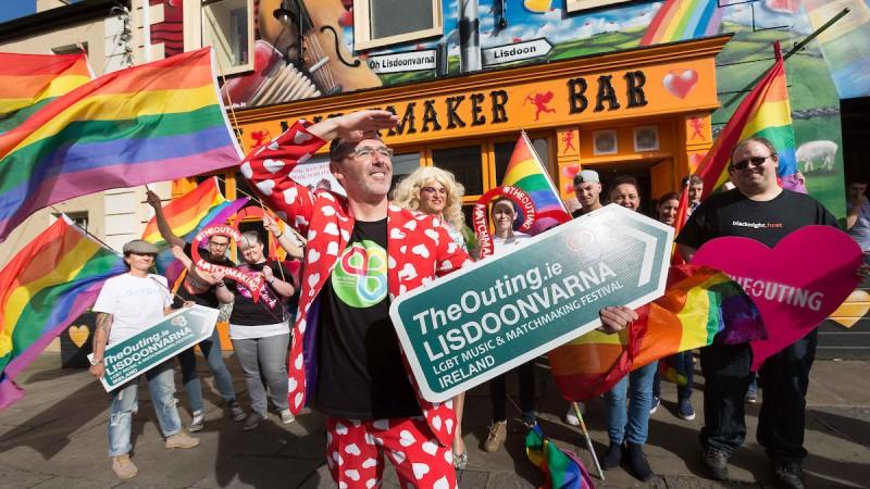 Photo credit: Eamon Ward & The Outing LGBT Music & Matchmaking Lisdoonvarna Ireland