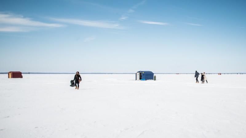 Ontario ice fishing