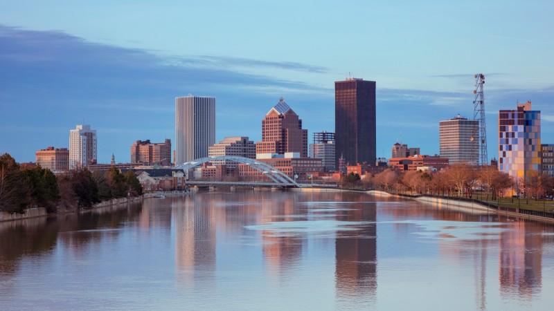Skyline of Rochester